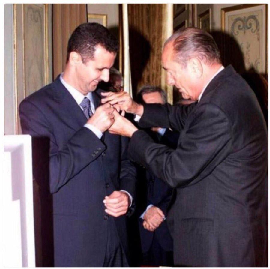 орден для Асада
