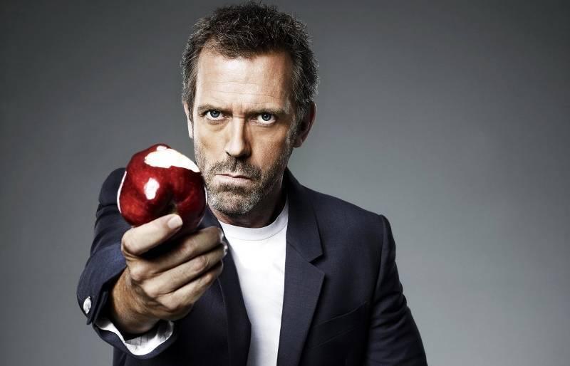 Хаус с яблоком