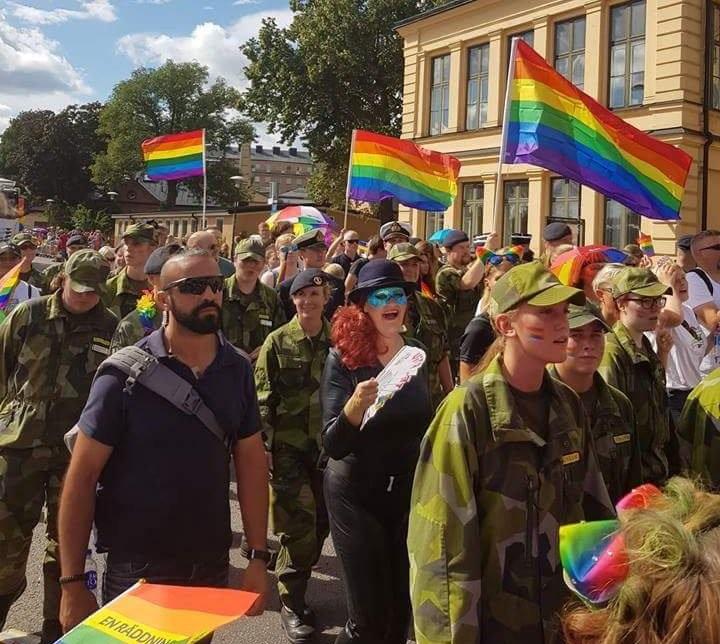 петухопарад в Стокгольме 2018