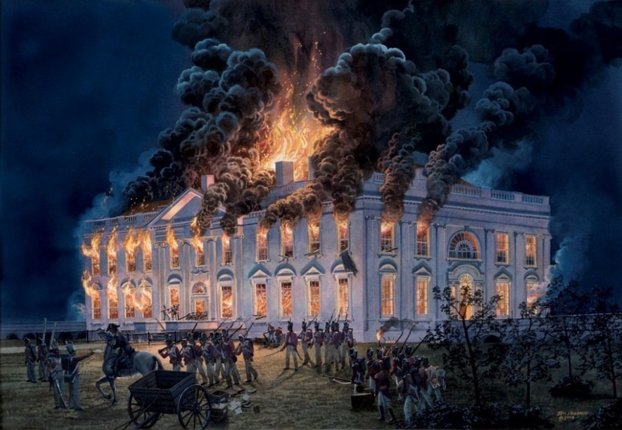 сожжение Вашингтона