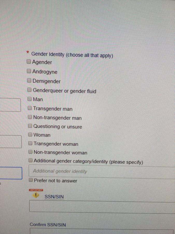 гендерная идентификация из регистрации к Law School Admission Test