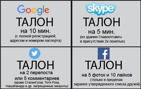 талон на интернет