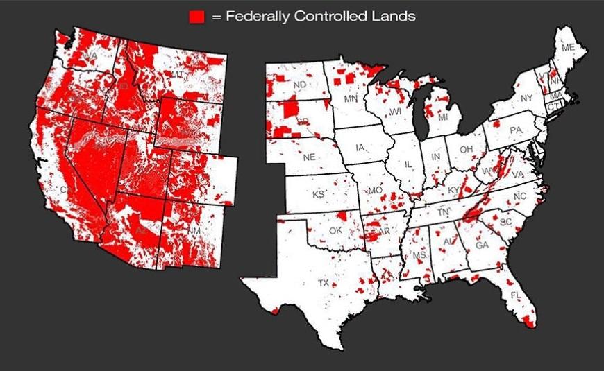федеральные земли в США
