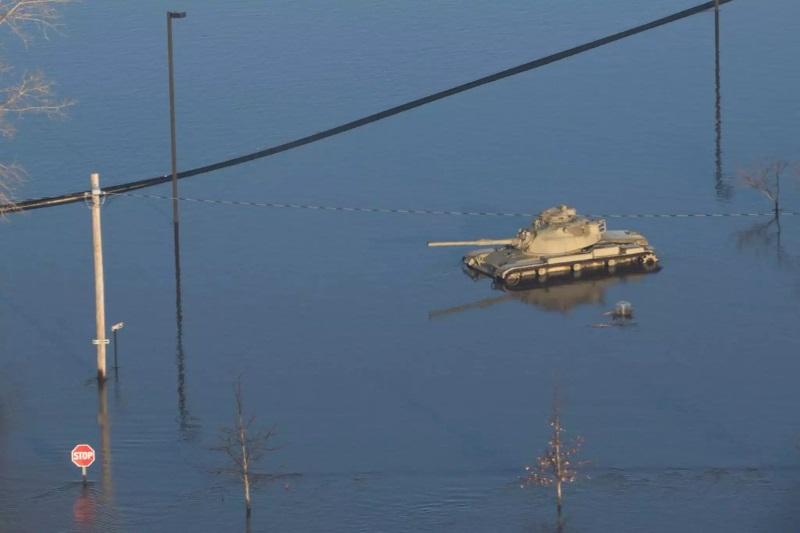затопленная база ВВС США Оффут_1