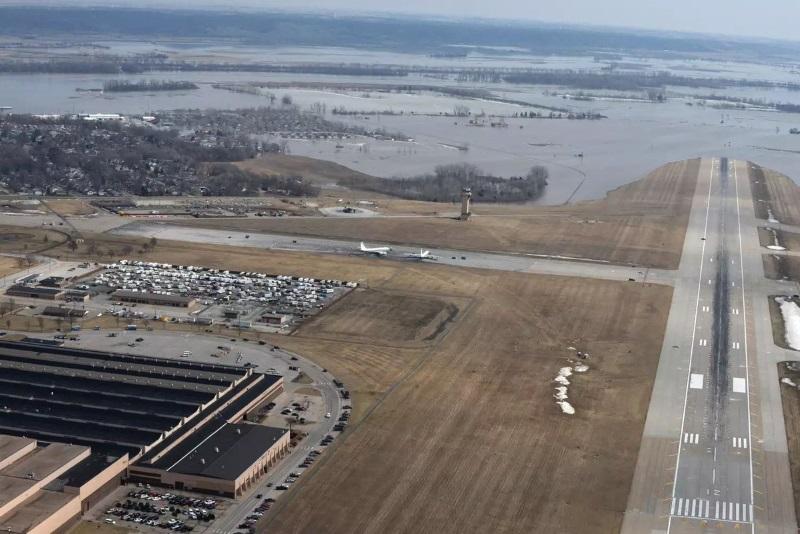 затопленная база ВВС США Оффут_2