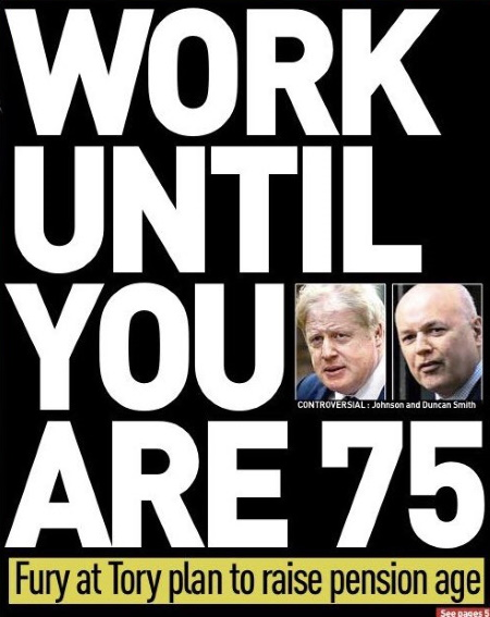 британские пенсии
