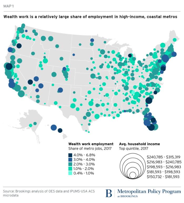 рост числа прислуги в США