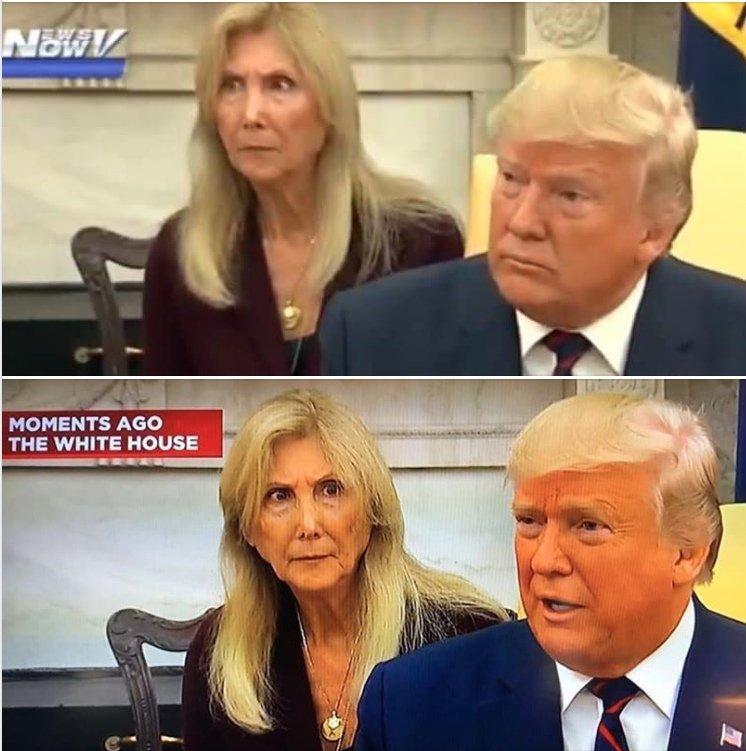 переводчица и Трамп