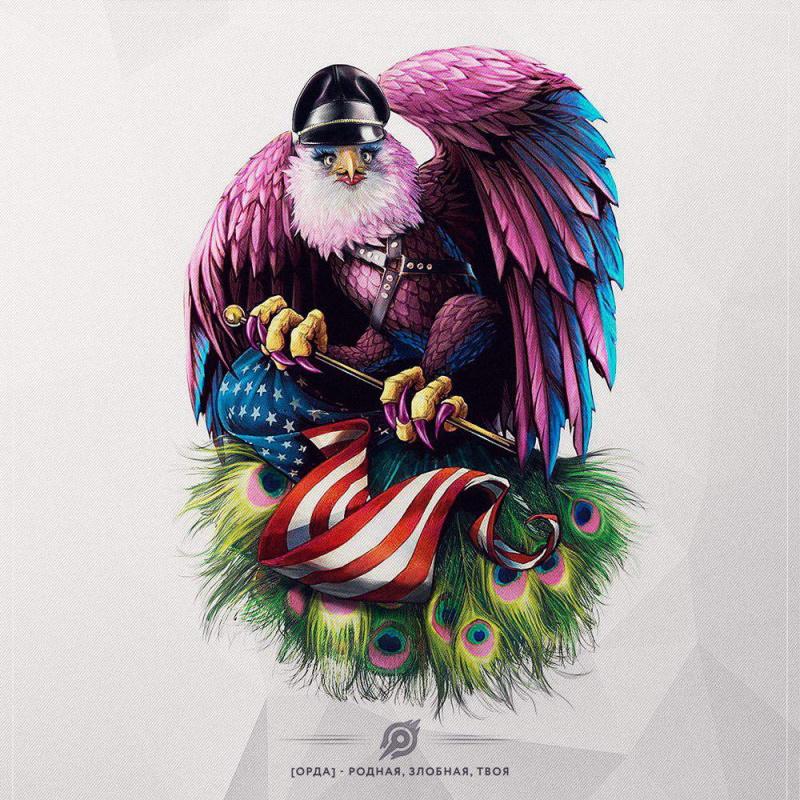 герб толерантных США