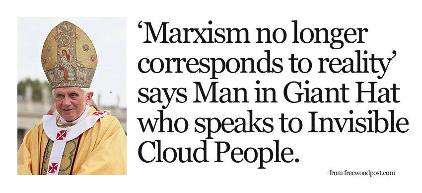 папа римский против марксизма