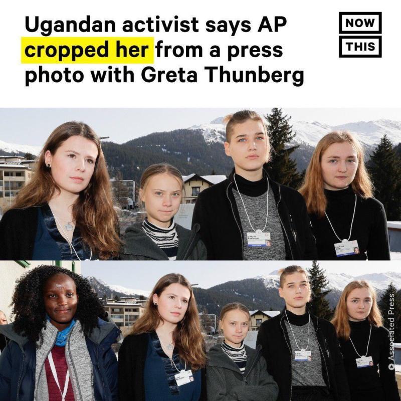 Грета Тунберг и расизм AP