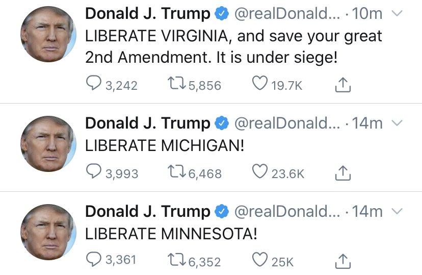 освободите Мичиган