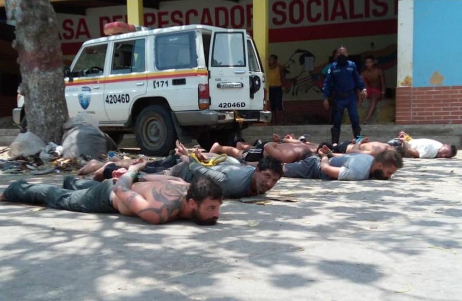 американские наёмники в Венесуэле