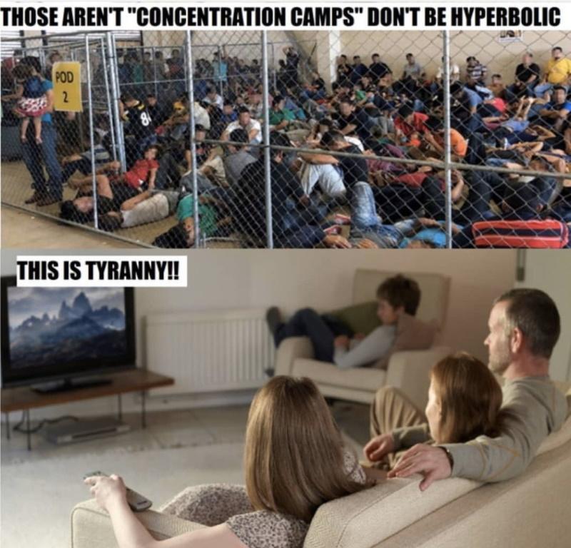 реальные концлагеря и выдуманная тирания