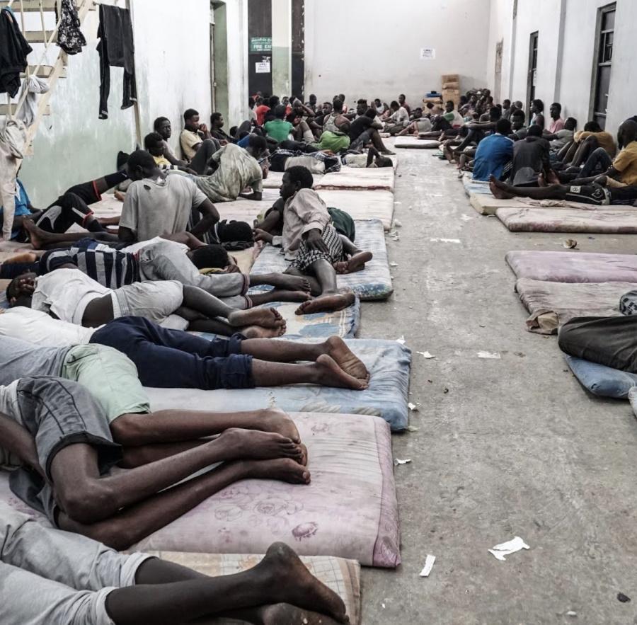 рынок рабов в Ливии, 2020