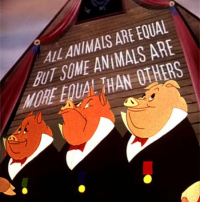 все животные равны