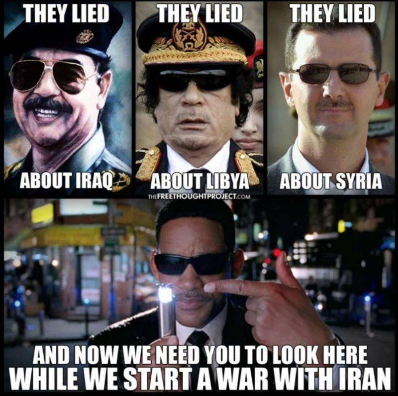 начать войну с Ираном