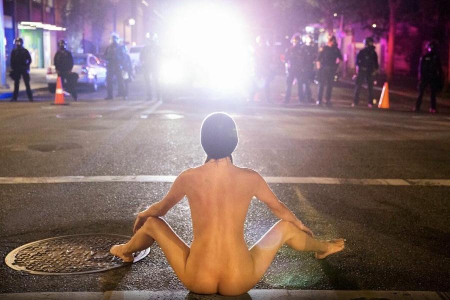 Портленд, задница протеста