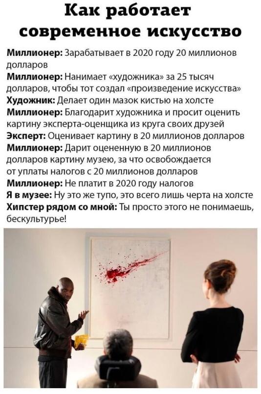 как работает современное искусство