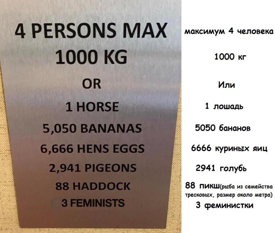 вес феминисток
