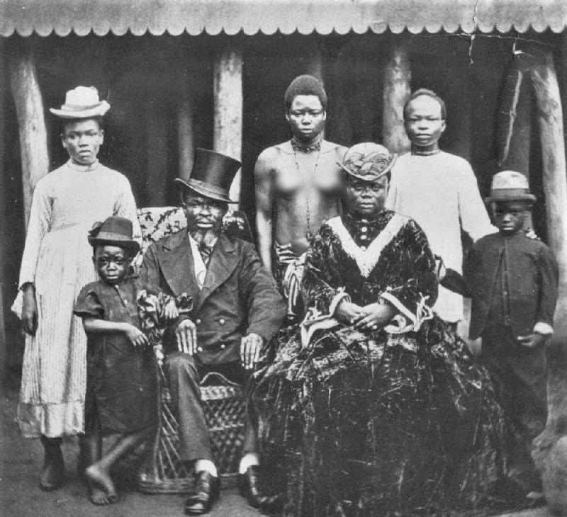 негры-рабовладельцы из Либерии, 1910-е годы