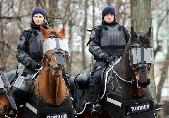 кавалерия евроукров