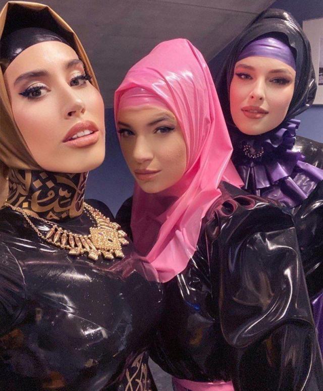 латексные хиджабы