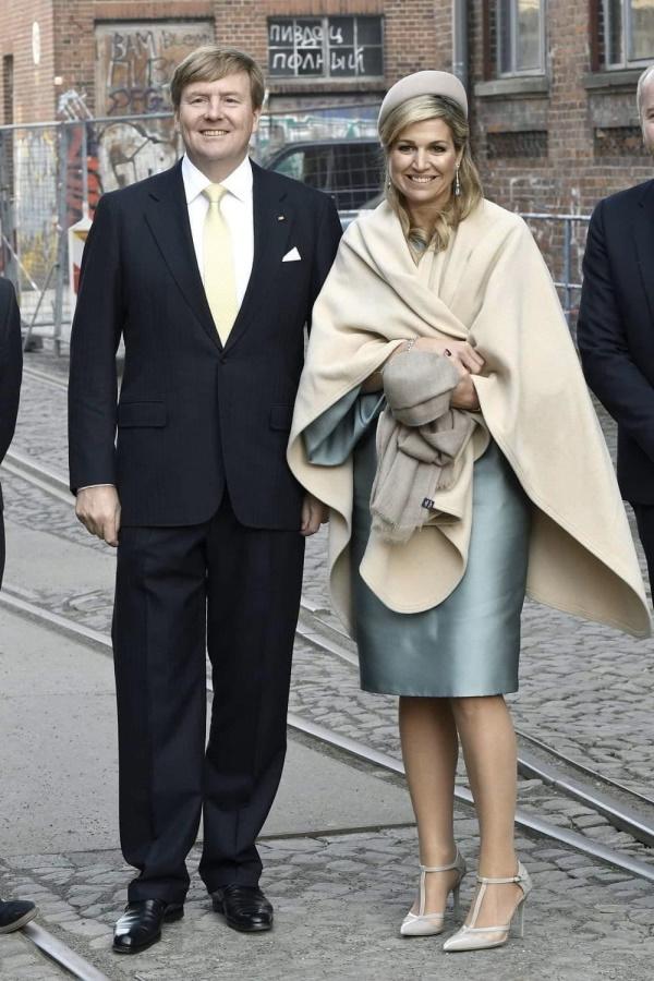 королевская чета Нидерландов и пиздец