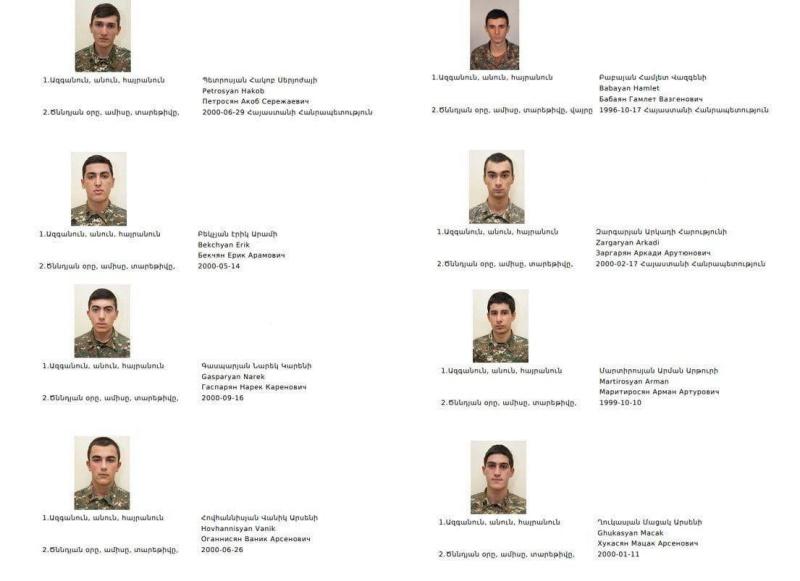 армяне, убитые азерами в НКР