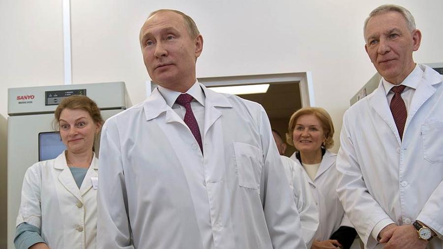 Путин и медики