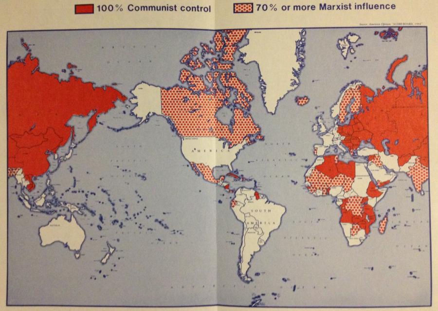 Карта влияния СССР