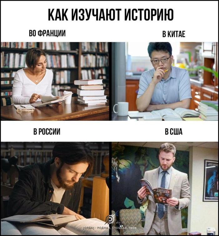 как изучают историю