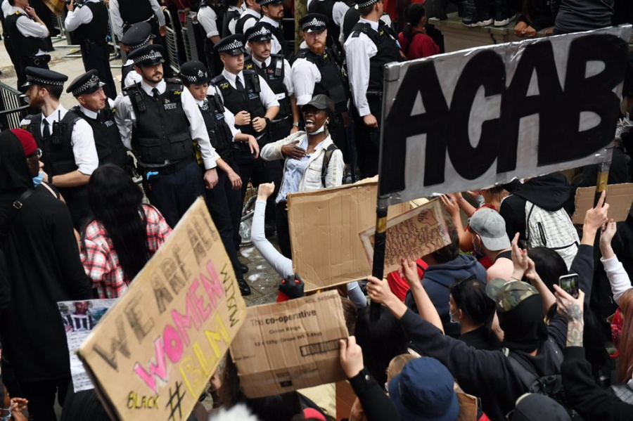 A.C.A.B. в Лондоне