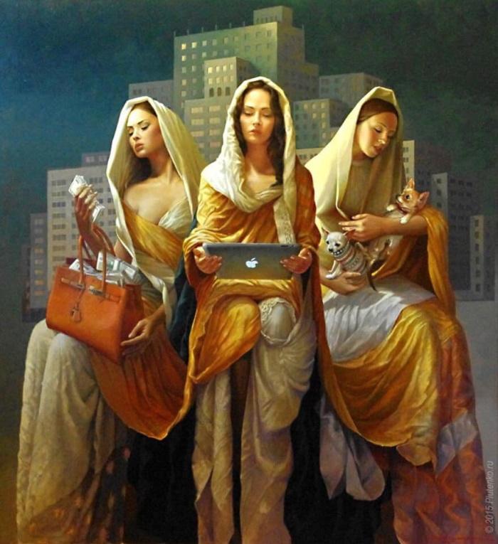 духовно богатые девы