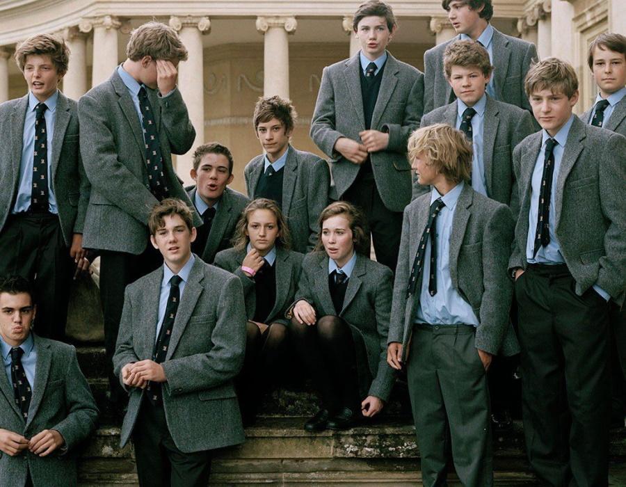 элитные британские школьники