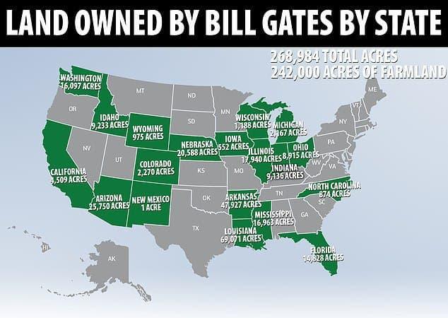 земля Билла Гейтса