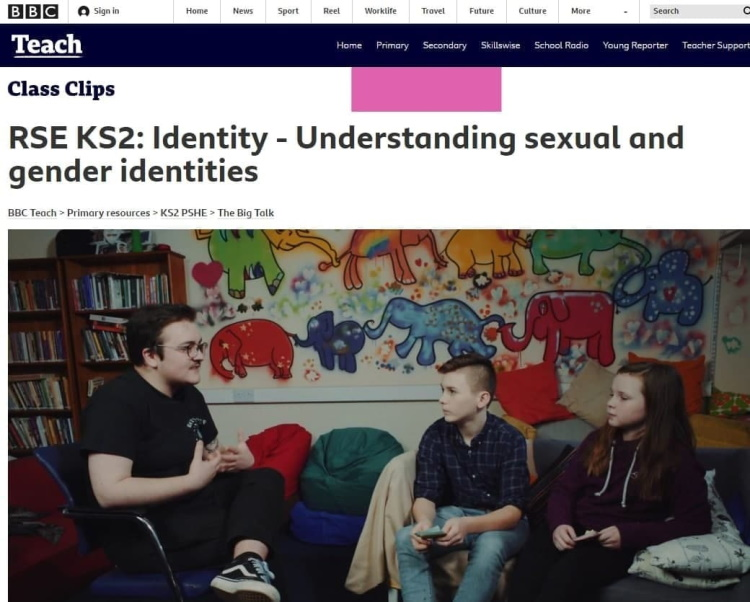 пропаганда BBC по смене пола