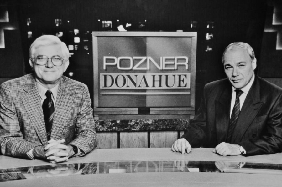 Познер и Донахью