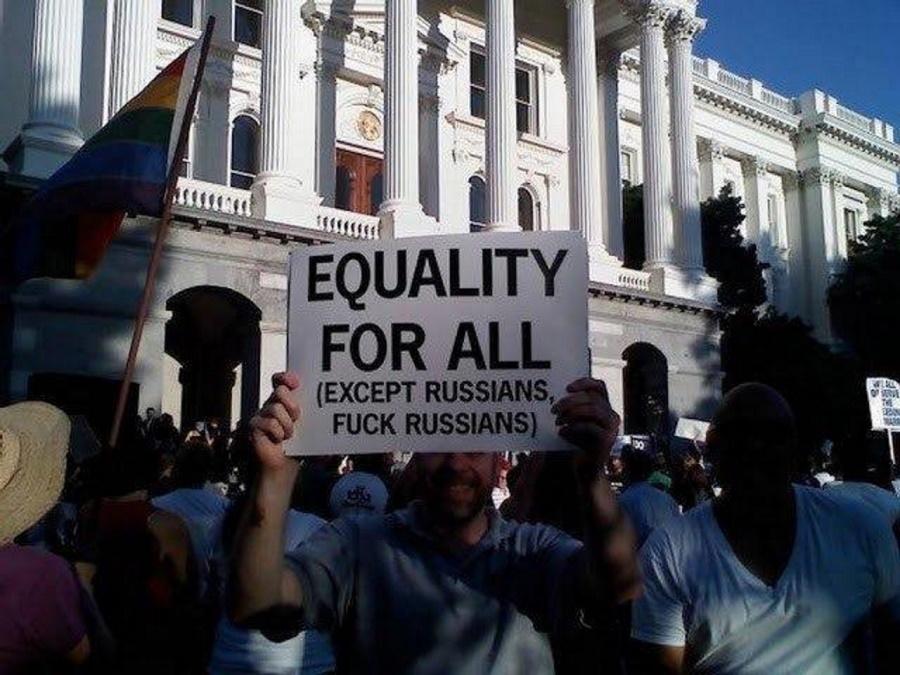 равноправие для всех, кроме русских