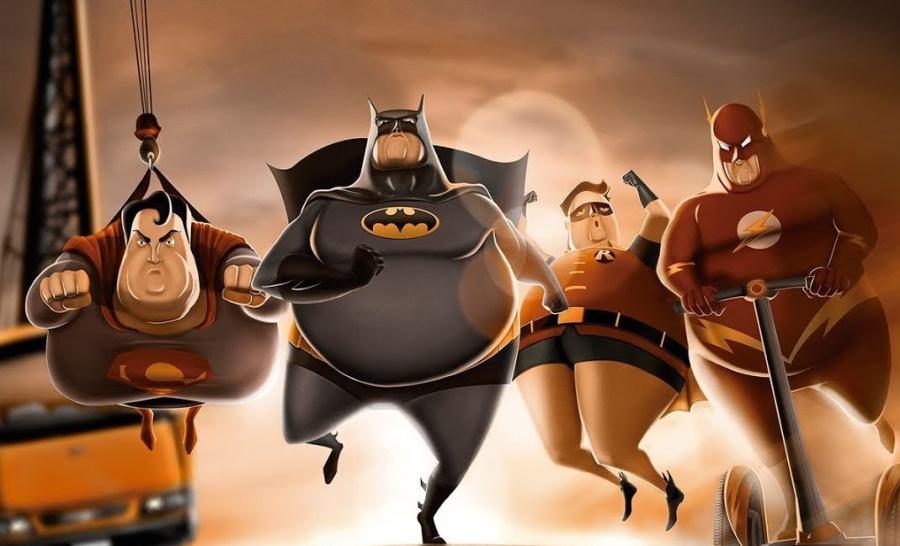жирные супергерои