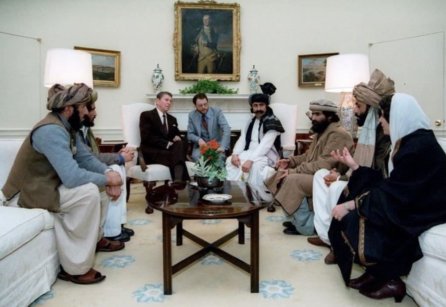 Рейган и моджахеды, 1983 год