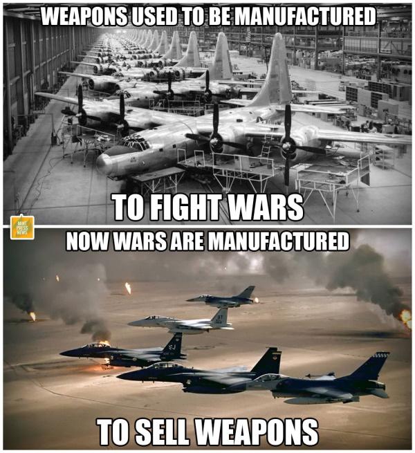 зачем начинают войны