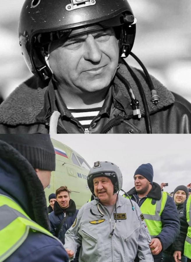 лётчики Евгений Кузнецов и Николай Куимов