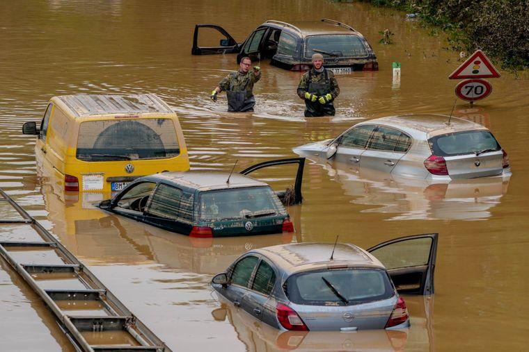 затопленная Германия