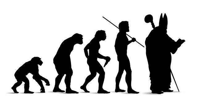 эволюция папы