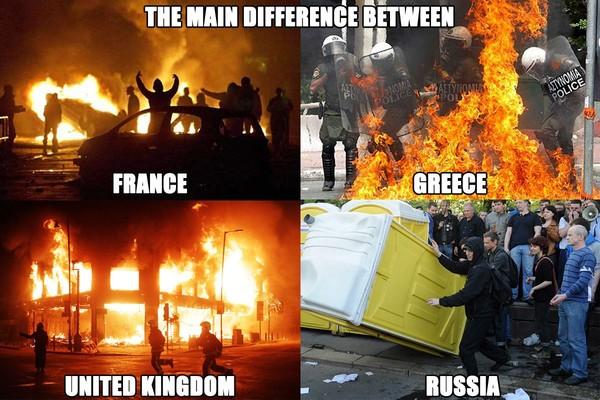 Беспорядки-в-разных-странах