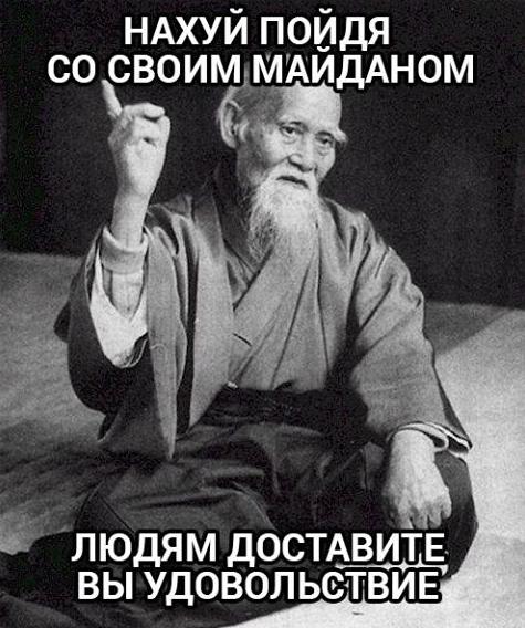 Уэсиба про Майдан