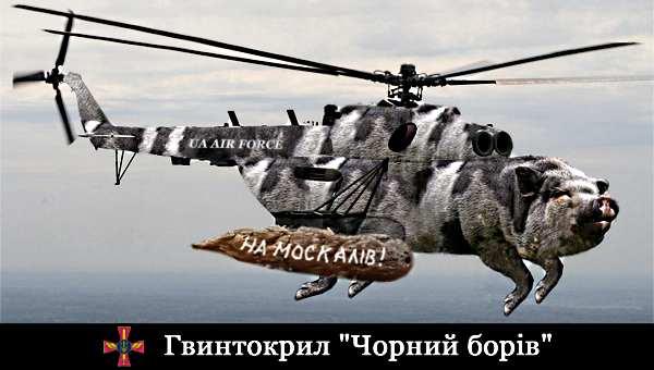 гвынтокрыл Чорный Борив