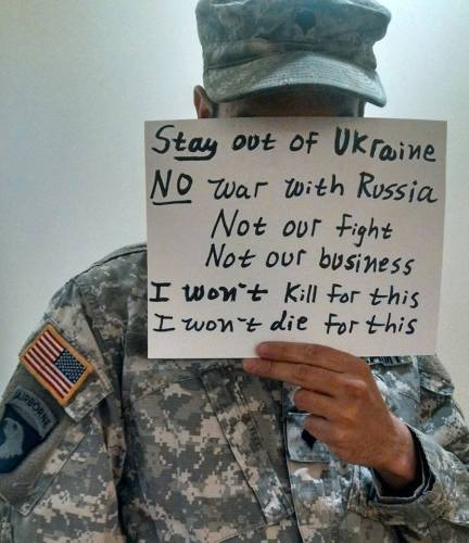 stay out of Ukraine