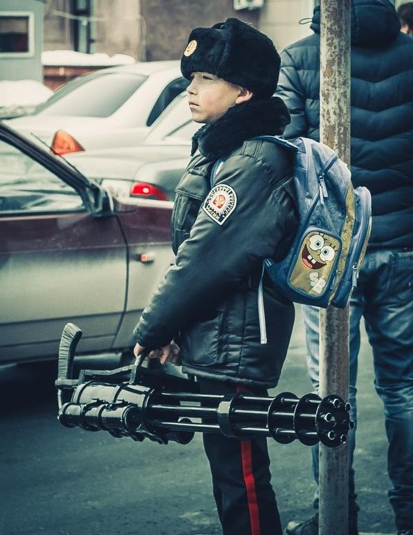 русский мальчик